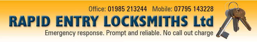 rapid entry locksmiths - page banner